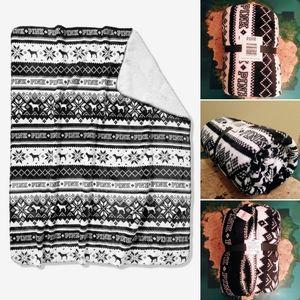 VS PINK Victoria's secret fleece Sherpa blanket